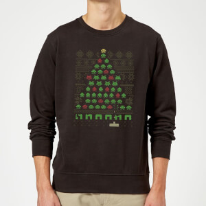 Invaders From Space Sweatshirt - Black