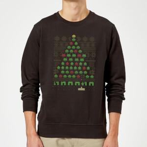 Invaders From Space Sweatshirt - Black