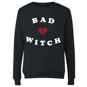 Bad Witch Women's Sweatshirt - Black