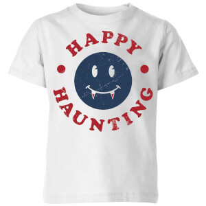 Happy Haunting Fang Kids' T-Shirt - White