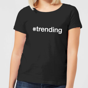 trending Women's T-Shirt - Black