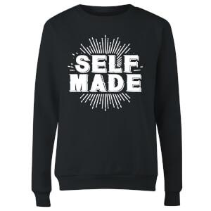 Self Made Women's Sweatshirt - Black