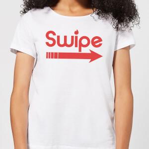 Swipe Right Women's T-Shirt - White