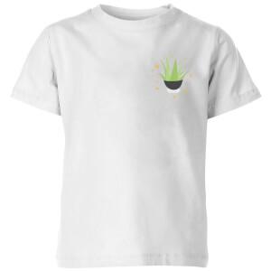 Aloe Vera Kids' T-Shirt - White