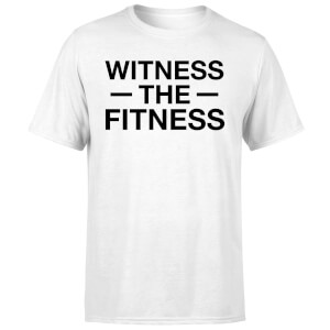 Witness the Fitness T-Shirt - White