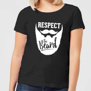 Respect the Beard Women's T-Shirt - Black