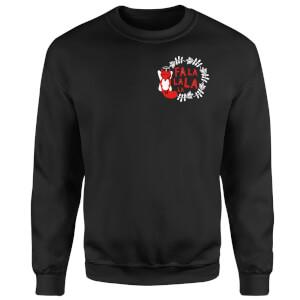 Fa La La La La Sweatshirt - Black