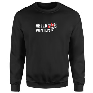 Hello Winter Sweatshirt - Black