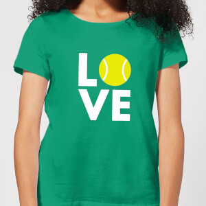 Love Tennis Women's T-Shirt - Kelly Green