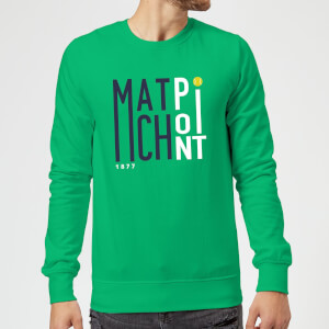 Match Point Sweatshirt - Kelly Green