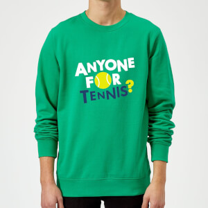 Anyone for Tennis Sweatshirt - Kelly Green