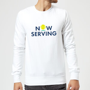 Now Serving Sweatshirt - White