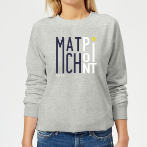 Match Point Women's Sweatshirt - Grey