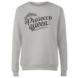 Prosecco Queen Women's Sweatshirt - Grey
