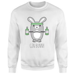 Gin Bunny Sweatshirt - White