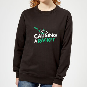 Causing a Racket Women's Sweatshirt - Black