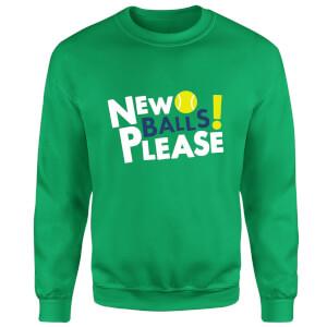 New Balls Please Sweatshirt - Kelly Green