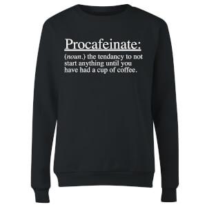 Procafeinate Women's Sweatshirt - Black