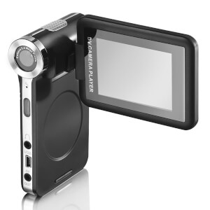 "Teknique T67002N Flip Screen Camcorder with 2.4"""" LCD Display - Black"