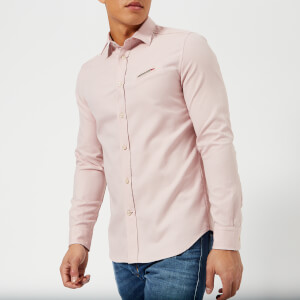 Diesel Men's Harras Long Sleeve Shirt - Misty Rose