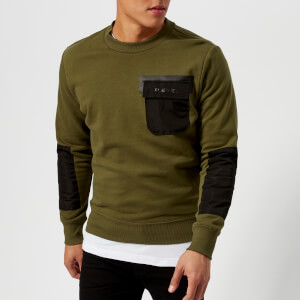 Diesel Men's Crome Sweatshirt - Olive Night