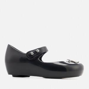 Mini Melissa Vivienne Westwood Toddlers Ultragirl 19 Ballet Flats - Black Orb