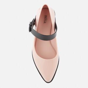 Melissa Women's Mary Jane Flat Shoes - Blush Contrast: Image 3