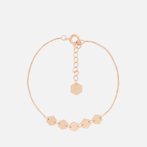 Cluse Women's Essentielle Hexagons Chain Bracelet - Rose Gold