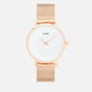 Cluse Women's Minuit La Perle Watch - Rose Gold