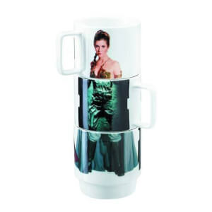 Star Wars Stacking Mugs Leia, Han, Lando