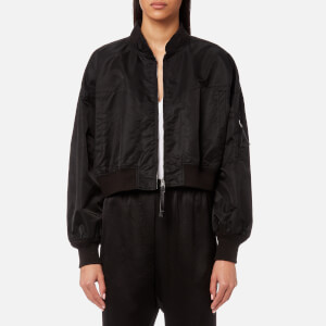 T by Alexander Wang Women's Nylon Twill Jacket - Black