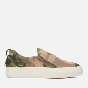 Buscemi Men's 40mm Suede Trainers - Camo