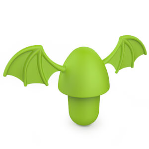 Zoo Bottle Stopper Dragon Vert