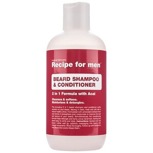 Recipe for Men Beard -partashampoo ja -hoitoaine 250ml