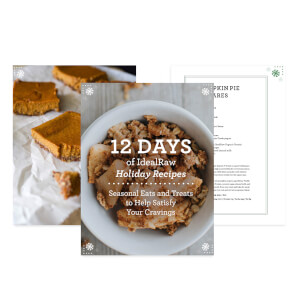 12 Days of IdealRaw Holiday Recipes