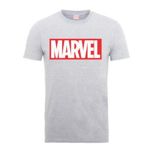 Marvel Logo Heren T-shirt - Grijs