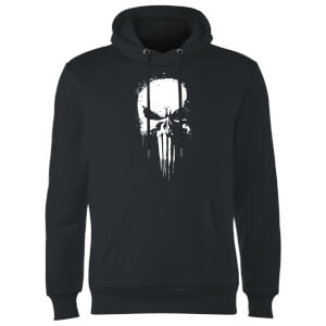 Marvel The Punisher Paintspray Men's Black Pullover Hoodie