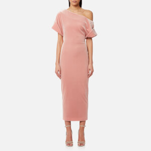 Christopher Kane Women's Stretch Velvet Dress - Ice Pink