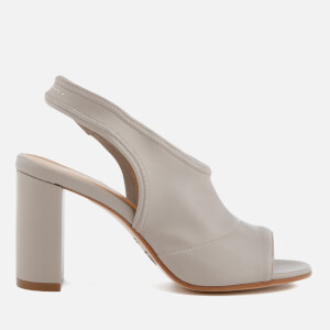 MM6 Maison Margiela Women's Sling Back Heeled Sandals - Gray