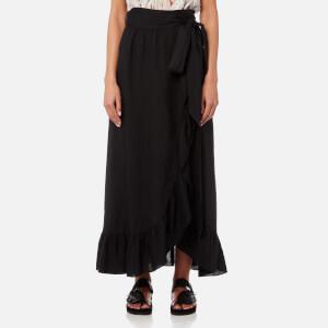 Isabel Marant Etoile Women's Alda Midi Skirt - Black