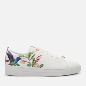 Ted Baker Women's Ahfira Floral Low Top Trainers - Highgrove Hummingbird