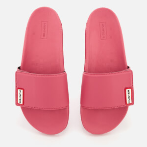 Hunter Women's Original Adjustable Slide Sandals - Peony