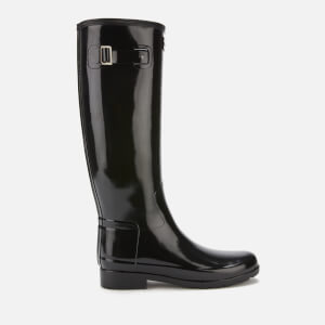 Hunter Women's Original Refined Gloss Tall Wellies - Black