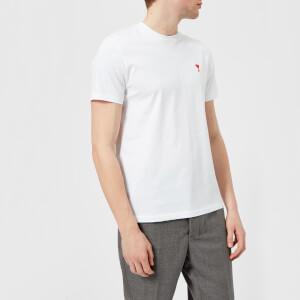 AMI Men's Heart Logo T-Shirt - White