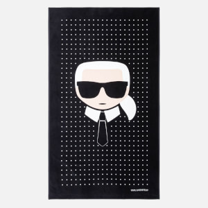 Karl Lagerfeld Women's K/Ikonik Towel - Black