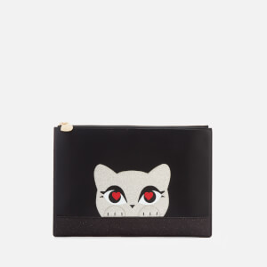 Karl Lagerfeld Women's K/Love Pouch - Black