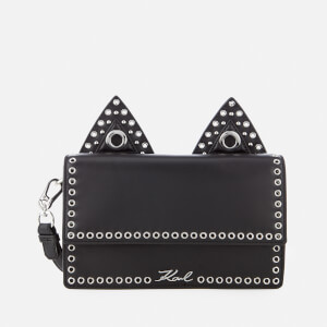 Karl Lagerfeld Women's K/Rocky Choupette Shoulder Bag - Black