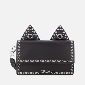 Karl Lagerfeld Women's K/Rocky Choupette Shoulder Bag - Black