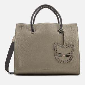 Karl Lagerfeld Women's K/Karry All Shopper Bag - Metallic Taupe