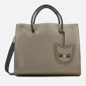 Karl Lagerfeld Women's K/Karry All Shopper Bag - Metallic Taupe